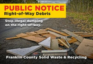 Right-of-Way Debris